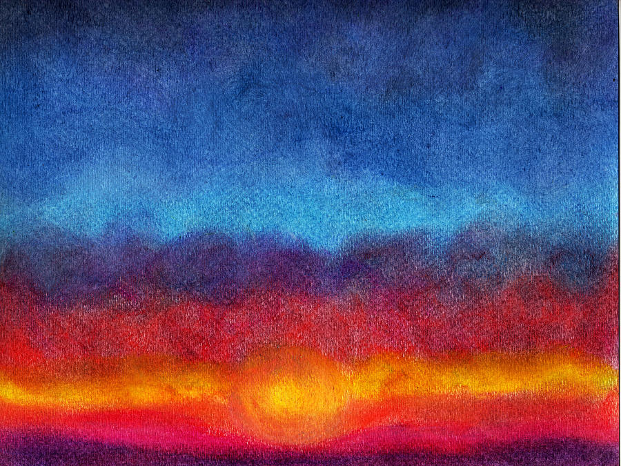 Abstract Painting - Until Tomorrow by Ken OToole