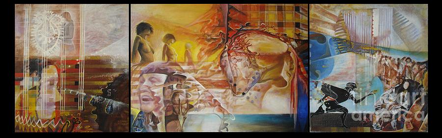 Untiteld Painting by Milush Mitushev