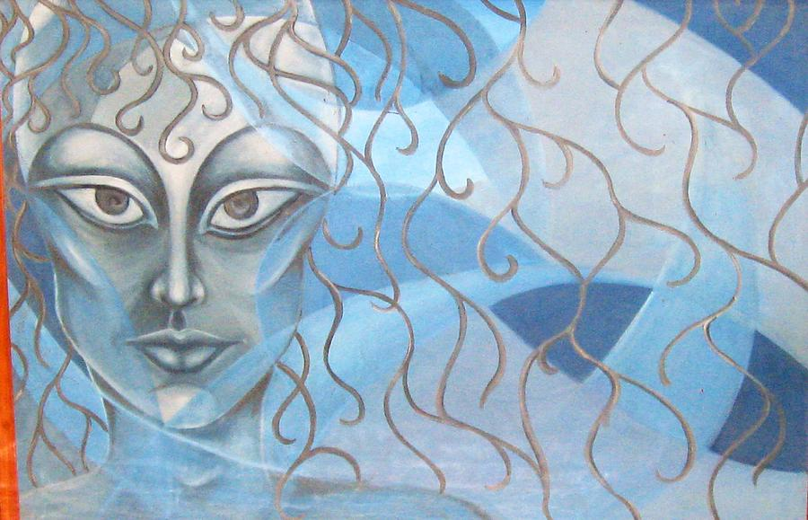 Untitle Painting by Virendra kumar Kundu