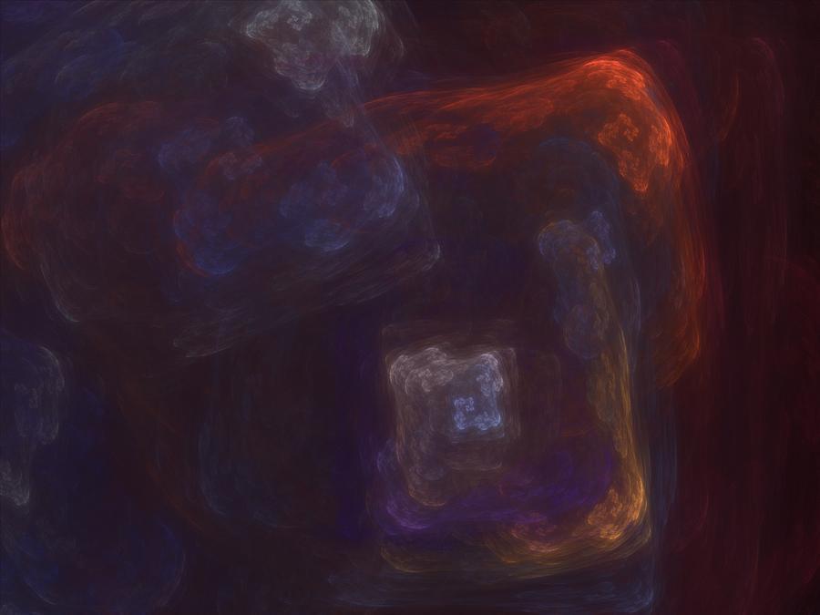 Fantasy Digital Art - Untitled 01-12-10-a by David Lane