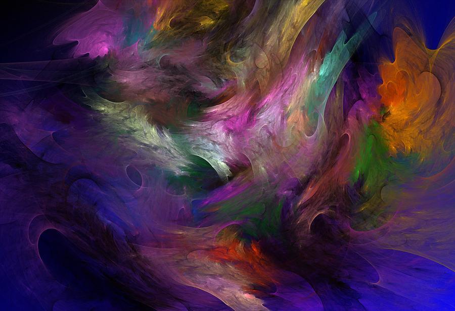 Fantasy Digital Art - Untitled 01-12-10 by David Lane