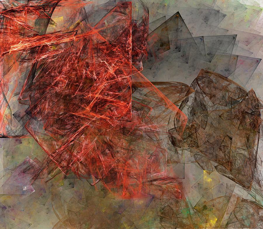 Digital Painting Digital Art - Untitled 01-15-10-a by David Lane