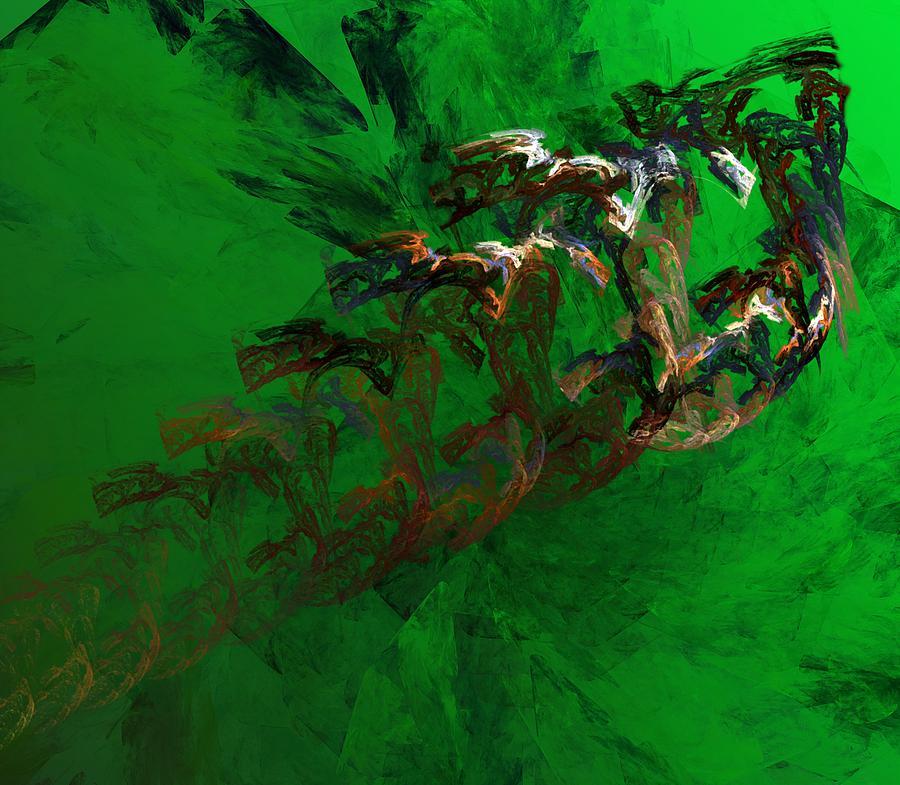 Digital Painting Digital Art - Untitled 01-15-10 by David Lane