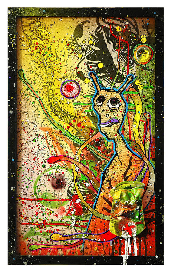 Cans Painting - Untitled 14 by Martin Bochicchio
