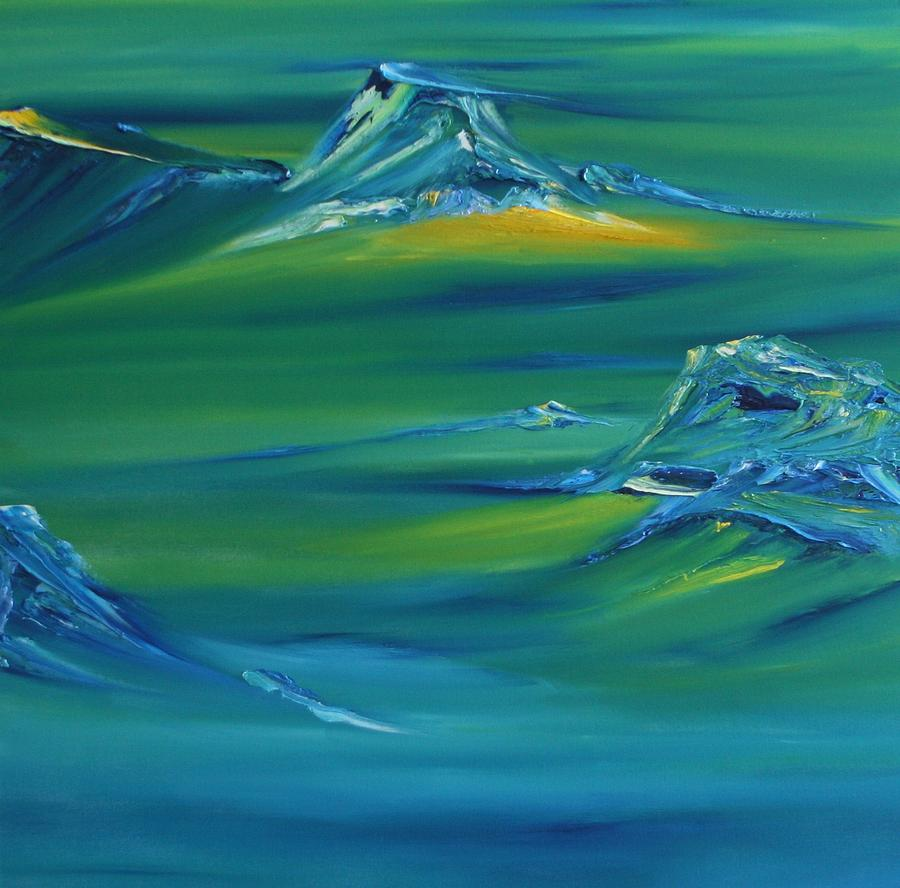 Abstract Painting - Untitled 19 by David Snider