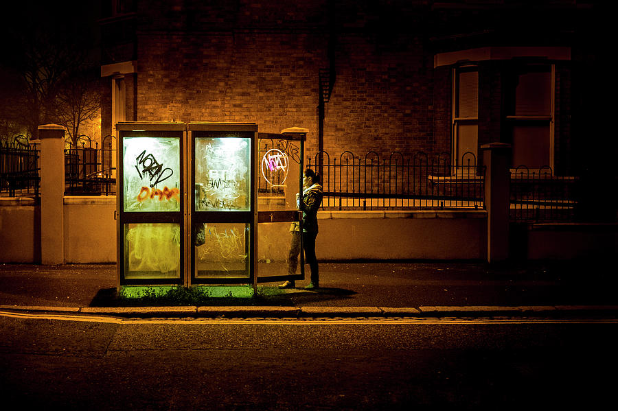 Darkness Photograph - Untitled 2, Darkness by Conor OBrien