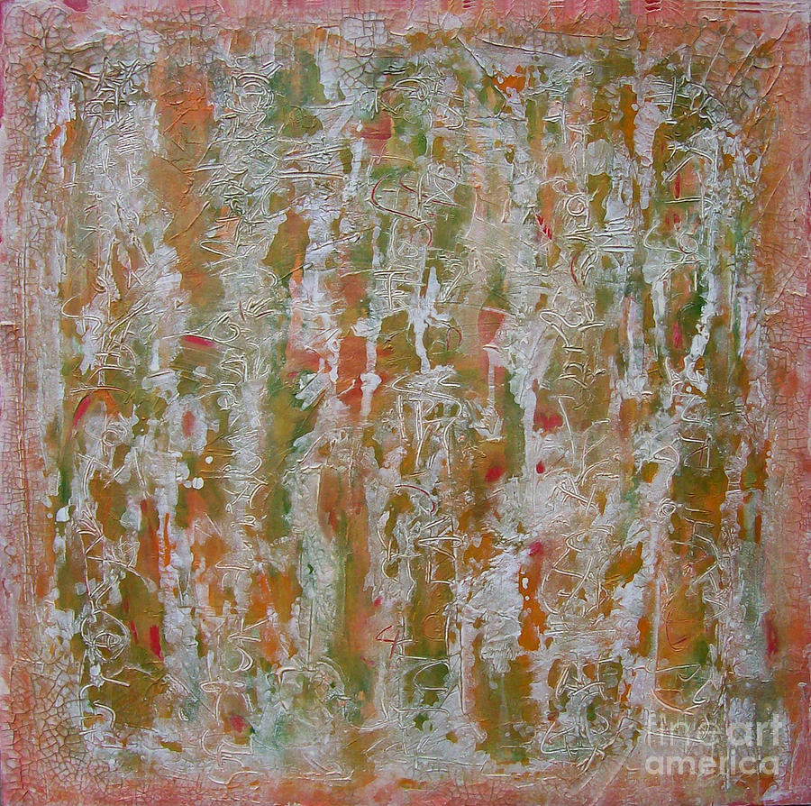 Abstract Mixed Media - Untitled 47 by Kellie Becker