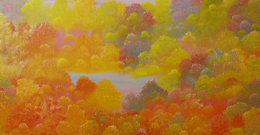Landscape Painting - Untitled 53 by David Snider