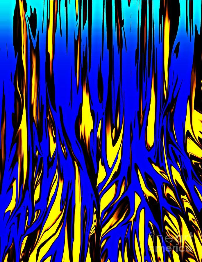 Abstract Digital Art - Untitled 7-21-09 by David Lane