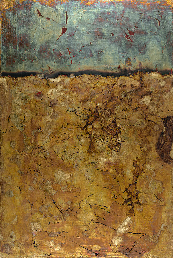 Abstract Painting - Untitled A by Wayne Berger