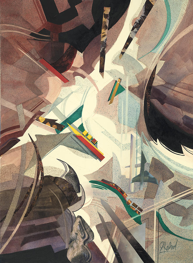 Untitled Abstract by Johanna Axelrod