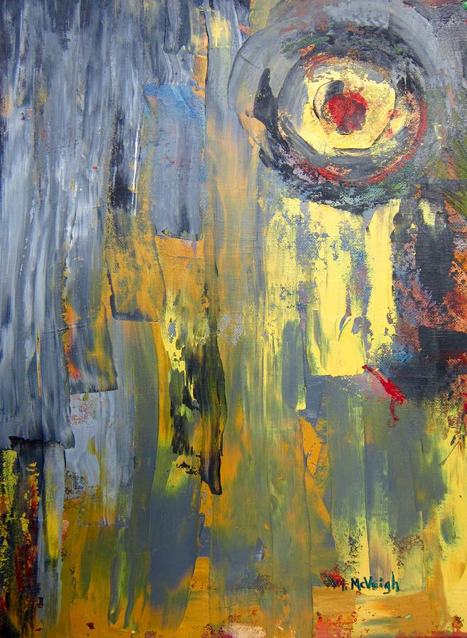 Abstract Painting - Untitled Abstract by Marita McVeigh