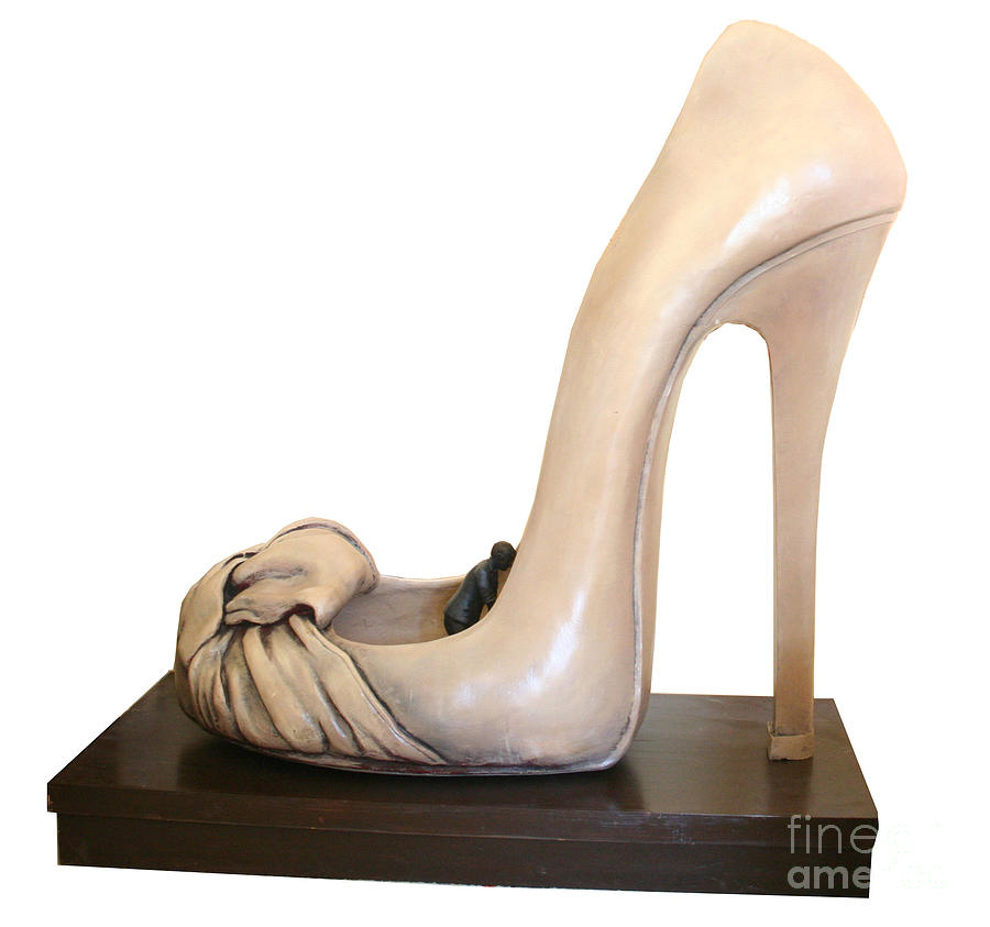 Shoes Sculpture - Untitled by Aisha Gul