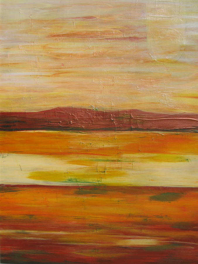 Landscape Painting - Untitled by Celesty  Claudio