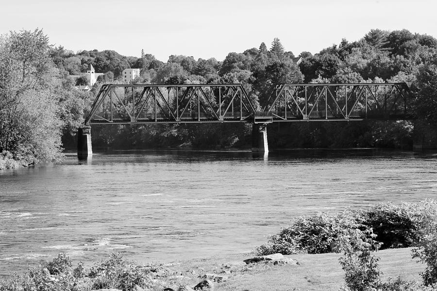 Bridge Photograph - Untitled by Claudette Letendre