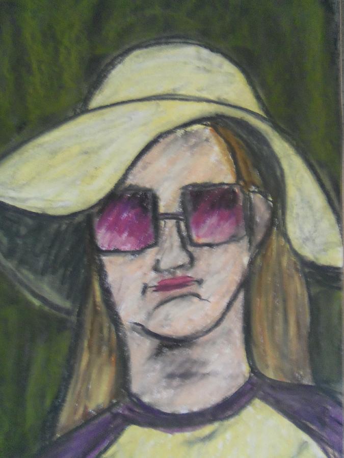 Lady Pastel - Untitled by Heather Burbridge