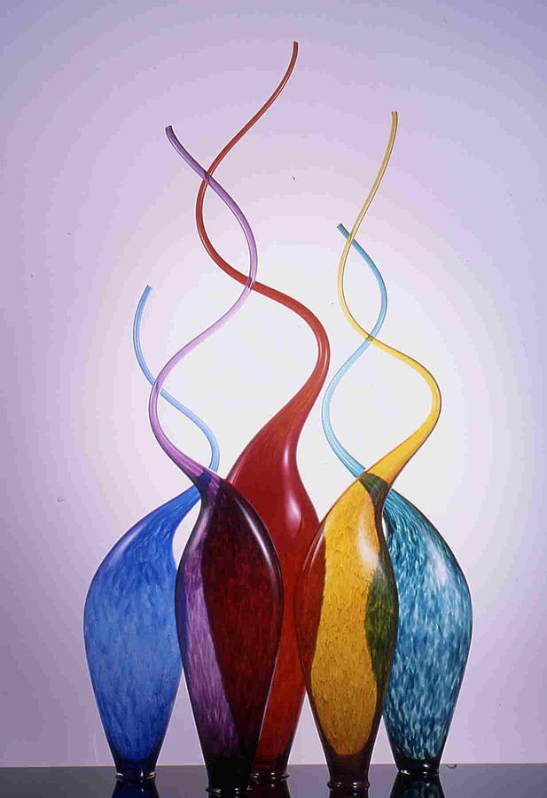 Untitled Glass Art by J Cline