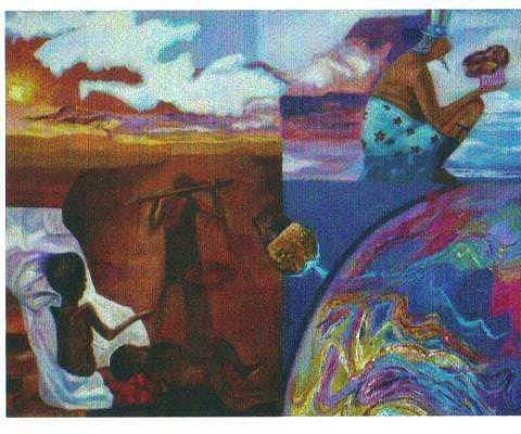 Untitled Painting by Martha Sterling Stroman