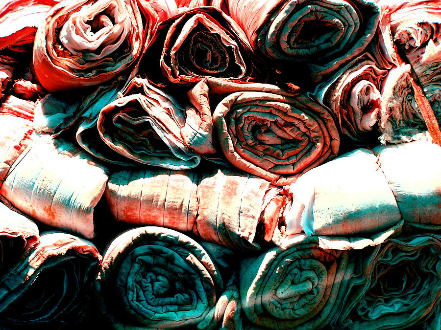 Cloth Photograph - Untitled by M Pace