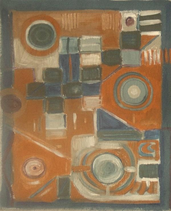 Untitled No. 1 Painting by Mauro Longordo