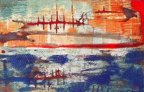 Abstract Painting - Untitled No. 9 by Jim Johnston