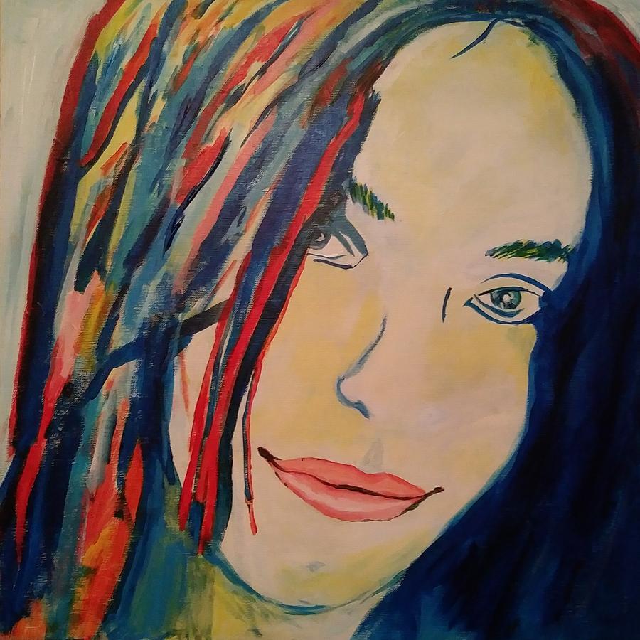 Portrait Painting - Untitled portrait 2 by Tim Welch