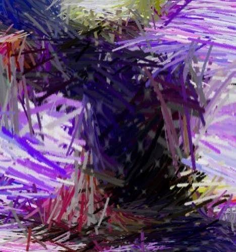 Violet Digital Art - Untitled by Ricardo G Silveira