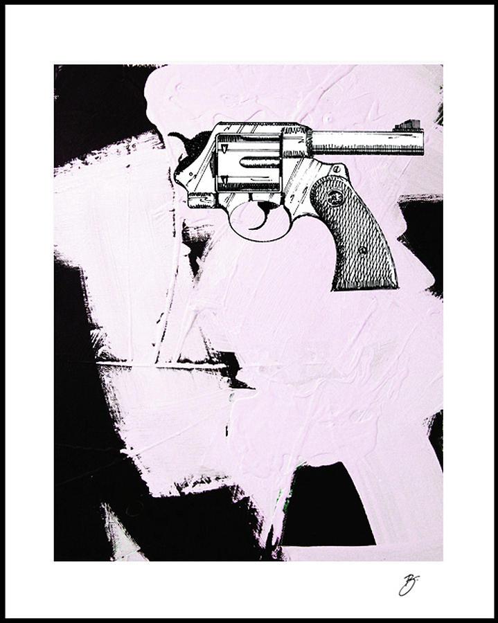 Anti-gun Mixed Media - Untitled by Richard Buckley