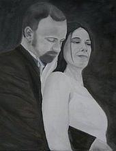 Wedding Painting - Untitled by Sonia Richard