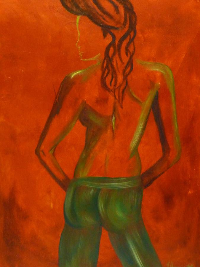 Figure Painting - Untitled by Tara Tyson