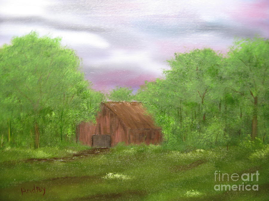 Barn Painting - Untitled by Todd Androy