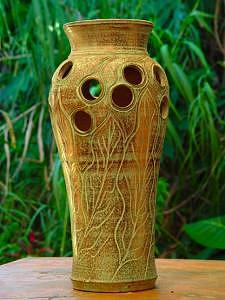 Vase Ceramic Art - Untitled by Tom Faught