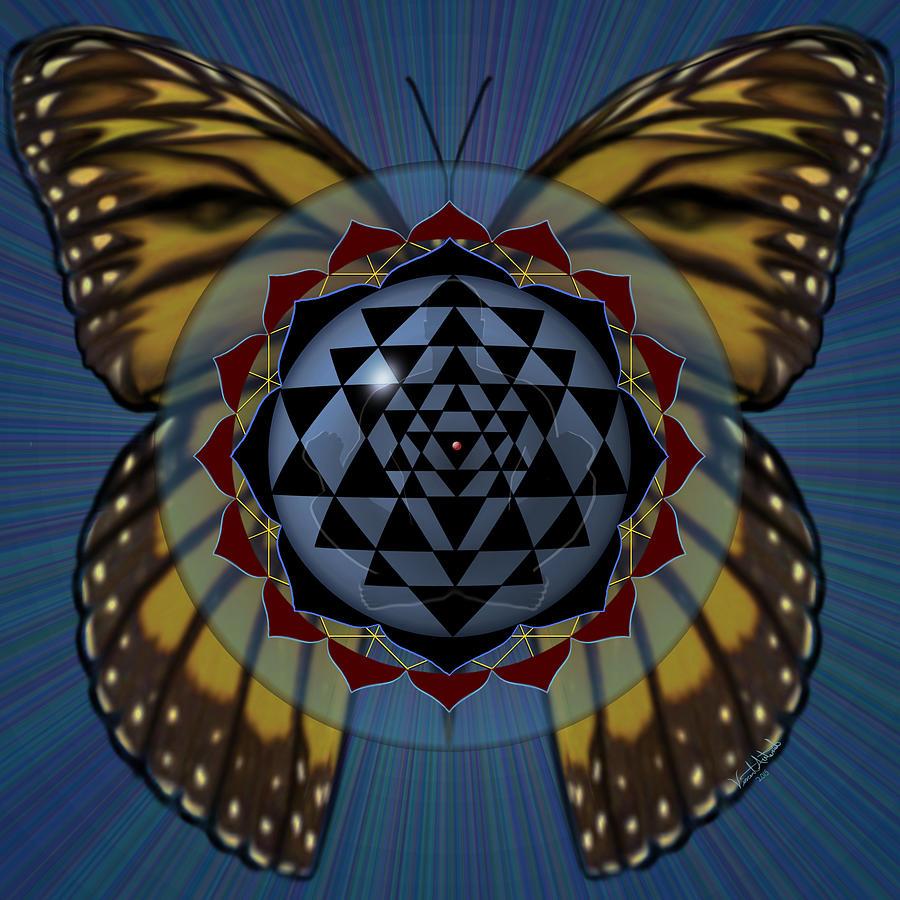 Transcend Digital Art - Transforming Meditation by Vincent Autenrieb