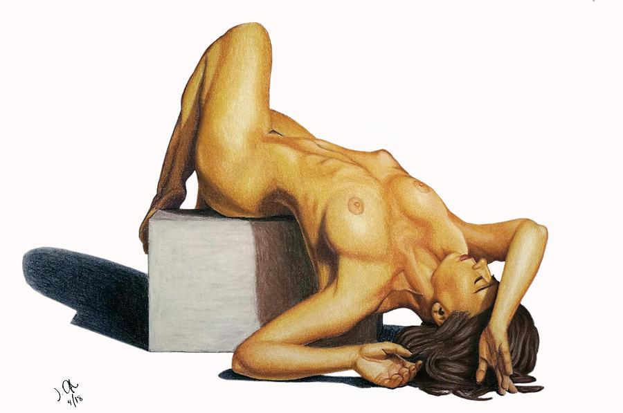 Untitled nude by Joseph Ogle