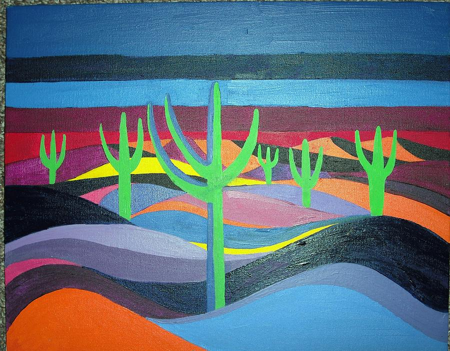Landscape Painting - Untittled by Jamie Winter