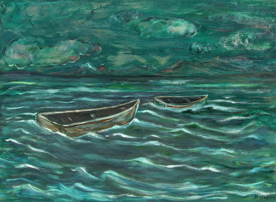Untold Story of Two Boats by Katt Yanda