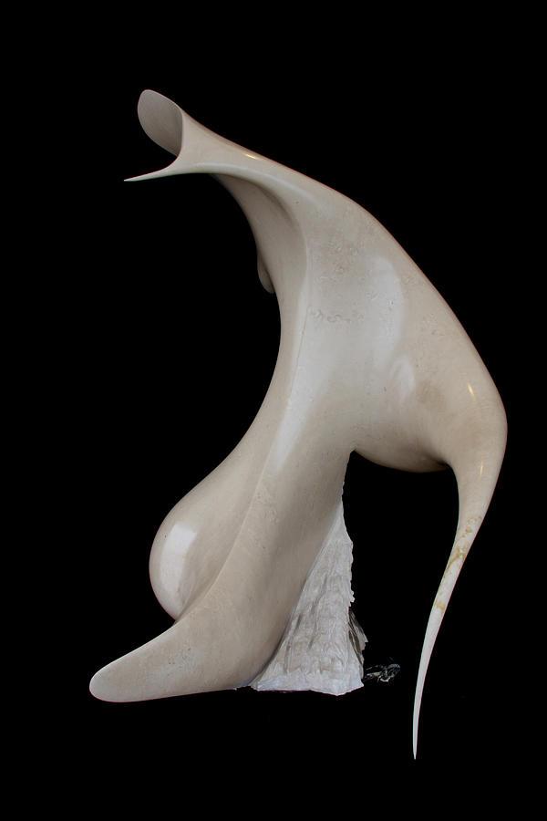 Uomo Aquila Sculpture by Emanuele Rubini