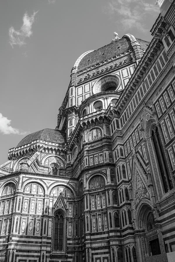 Canon Photograph - Up At The Duomo In Florence  by John McGraw