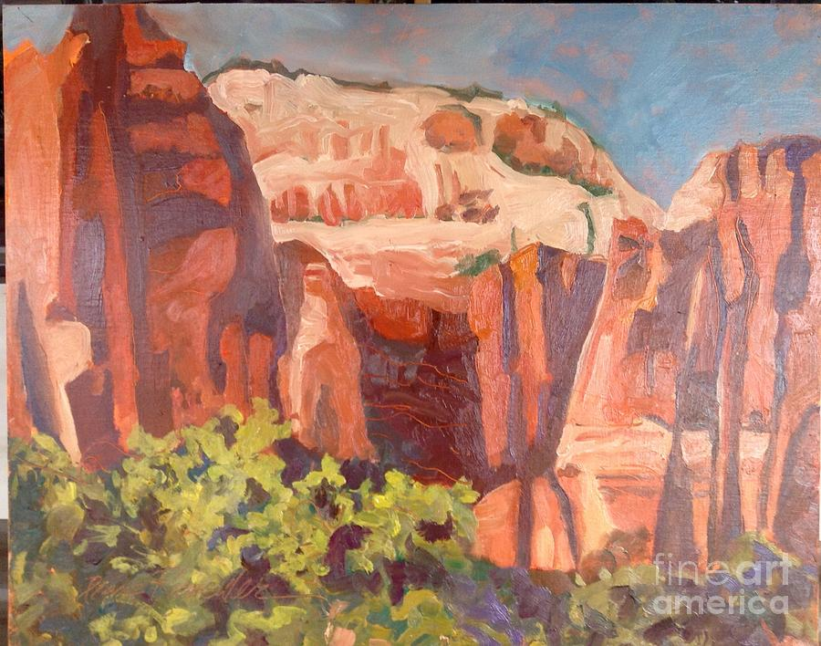Up the Canyon/Zion by Diane Renchler