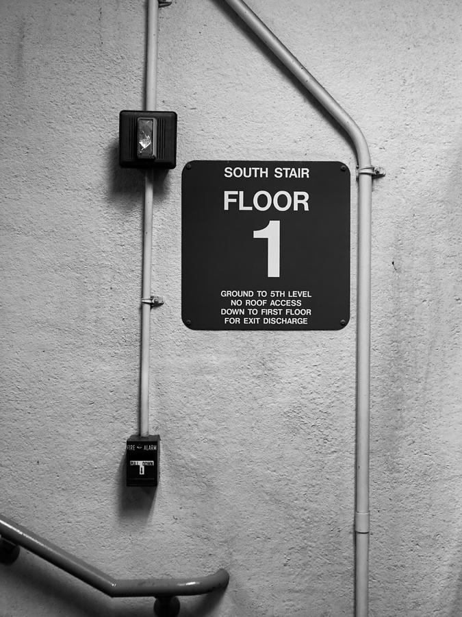 Door Photograph - Up To One by Bob Orsillo