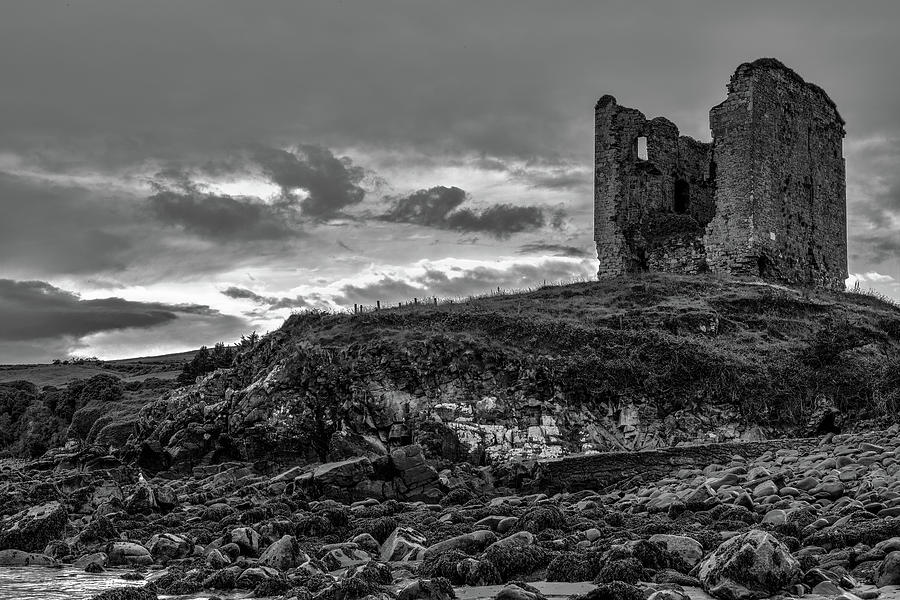 Castle Photograph - Upcomming Myth Bw #e8 by Leif Sohlman