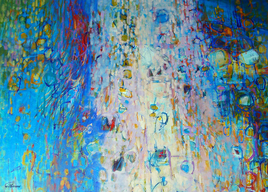 Abstract Painting - Uplifted by Dale  Witherow