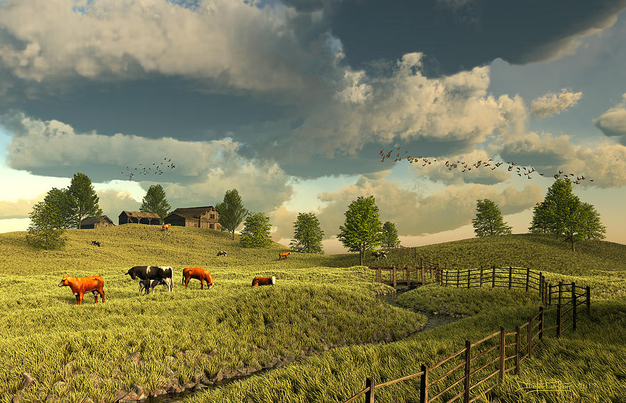 Upon The Rural Seas by Dieter Carlton