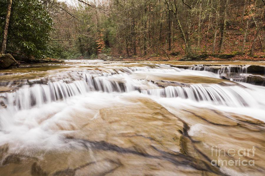 Waterfall Photograph - Upper Campbell Falls by Melissa Petrey