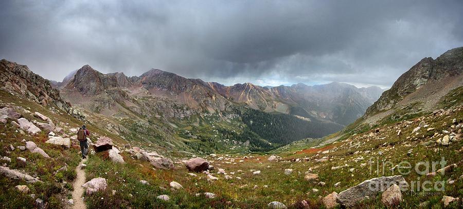 Colorado Photograph - Upper Chicago Basin Below Mt Eolus - Weminuche Wilderness - Colorado by Bruce Lemons