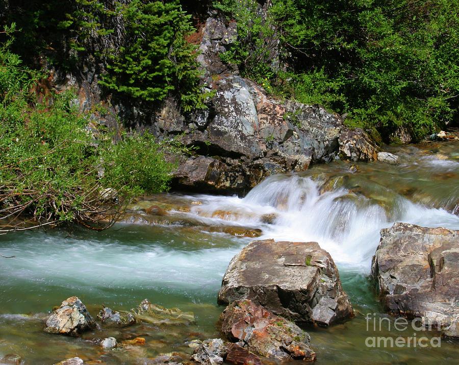 Aquatic Photograph - Upper Falls by Crystal Garner