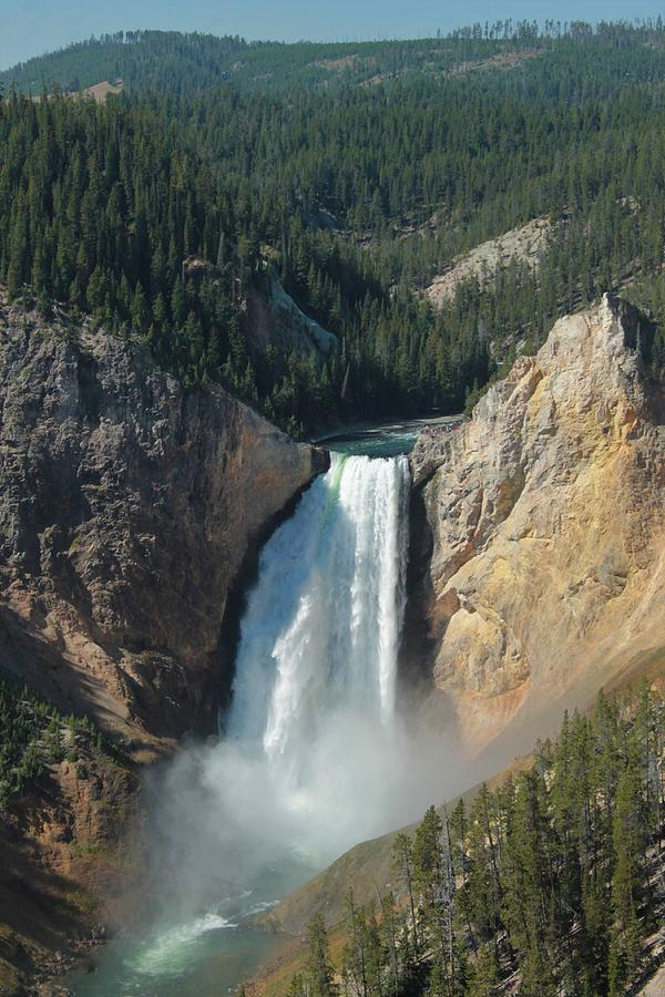 Upper Falls, Yellowstone River by Christopher Kirby
