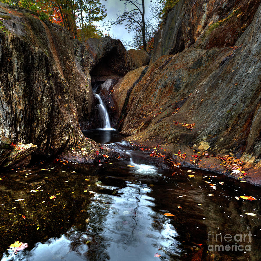 Upper Small Falls by John Sandiford