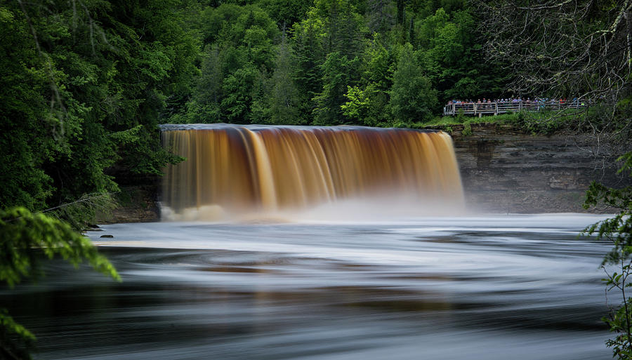 Upper Tahquamenon Falls by James Howe