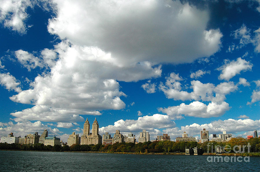 West Side Photograph - Upper West Side Cityscape by Allan Einhorn
